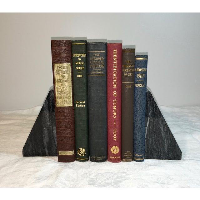 Vintage Display Medical Books - Set of 6 - Image 2 of 3