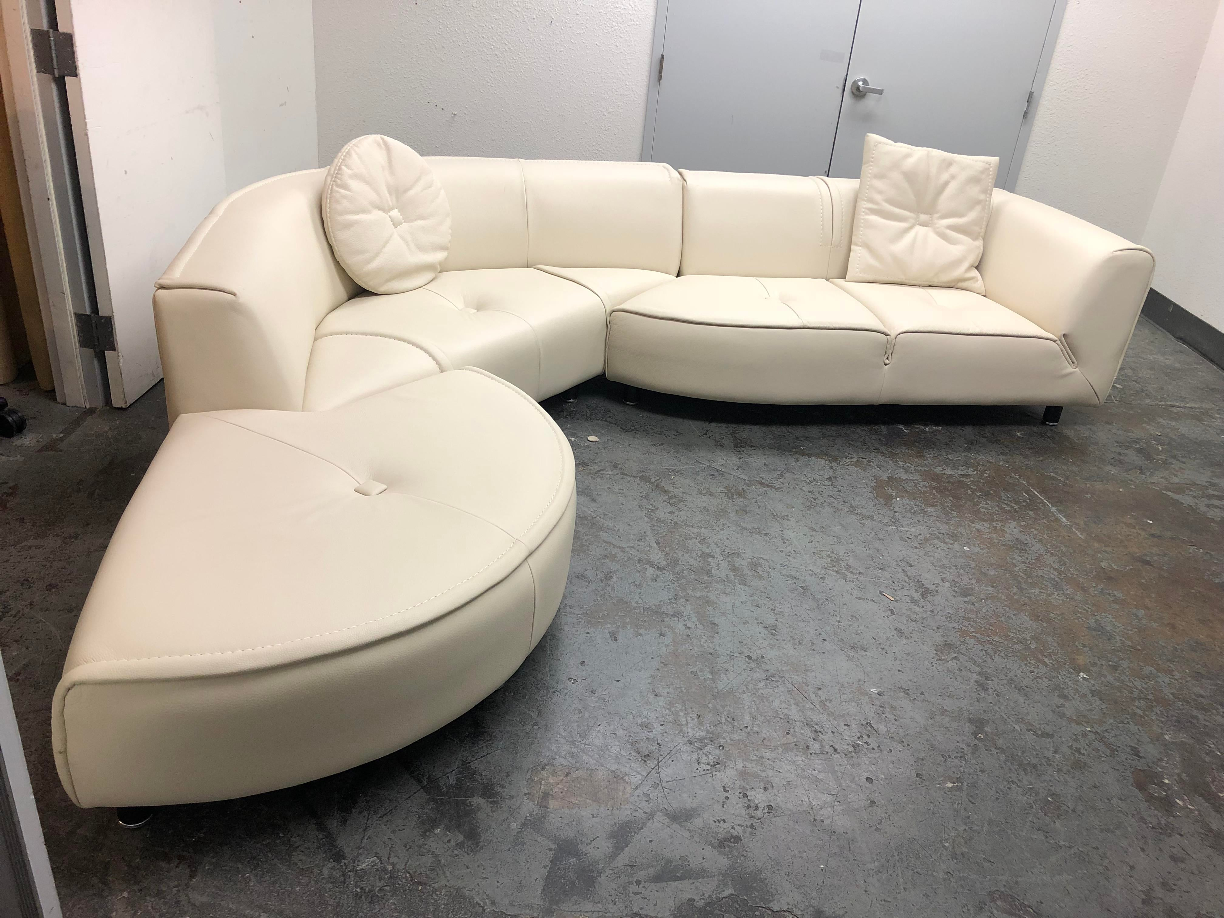 Design Plus Gallery Has A Three Piece Planet Sectional From Gamma Furniture.  Upholstered In A
