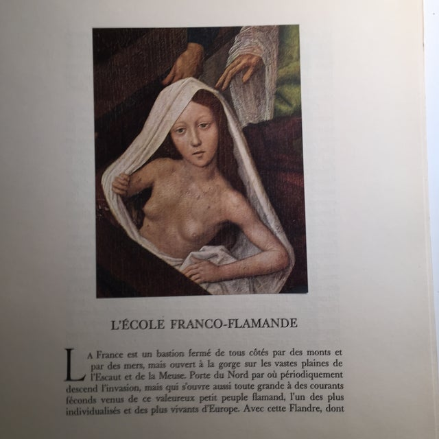 "1947 ""L'Ecole Franco-Flamande"" First Edition Folio by Germain Bazin For Sale - Image 5 of 11"