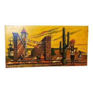 1930s Vintage Leon D'Usseau 'Dusso' Original Oil Painting For Sale