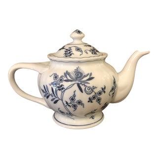 Blue Danube Blue Onion Teapot For Sale