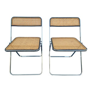 Elios Folding Chairs- a Pair For Sale