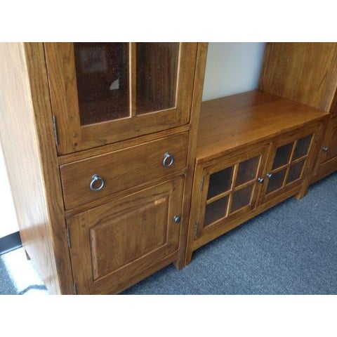 Solid Wood Entertainment Center - Image 7 of 7