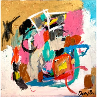 Ebony Boyd Contemporary Abstract Painting For Sale