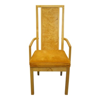 Late 20th Century Vintage Thomasville Furniture Patterns Collection Dining Arm Chair For Sale