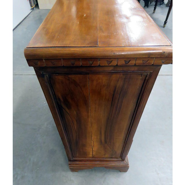 Wood 20th Century Italian Inlaid Commode For Sale - Image 7 of 8