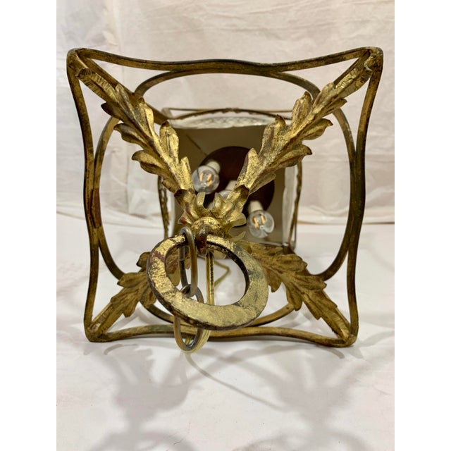 1920s 1920s French Style Basket Lantern For Sale - Image 5 of 8