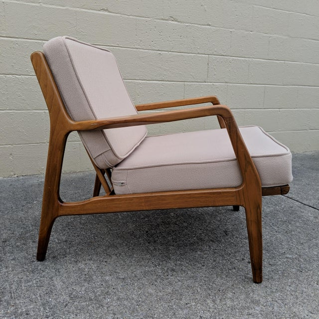 Ib Kofod-Larsen Mid-Century Ib Kofod-Larsen Danish Lounge Chair For Sale - Image 4 of 13
