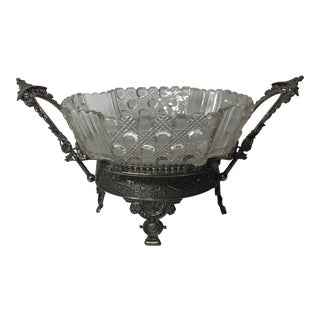 Rogers & Co. Victorian Silver Centerpiece For Sale