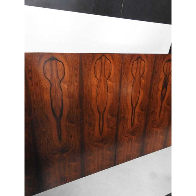 Brown Hans Wegner for Andreas Tuck AT-322 Rosewood Dining Table For Sale - Image 8 of 9
