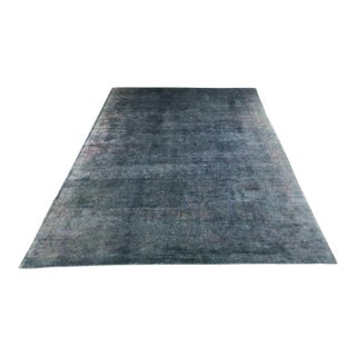 "Elegant Silk Abc Home & Carpet Overdyed Rug - 10'7"" X 7'3"" For Sale"