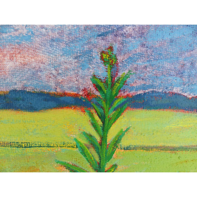 Modern Late 20th Century Landscape Oil on Canvas by Duilio Pierri For Sale - Image 3 of 8