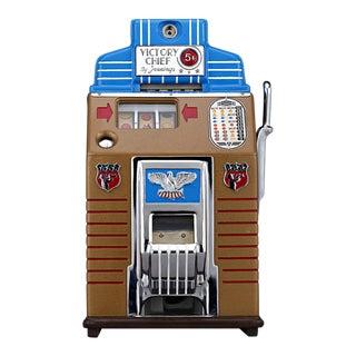 Jennings' Victory Chief Slot Machine