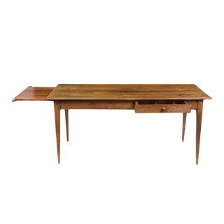 Traditional French Provincial Cherry Dining Table For Sale