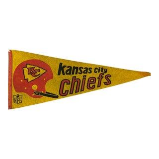 Kansas City Chiefs Vintage Pennant For Sale