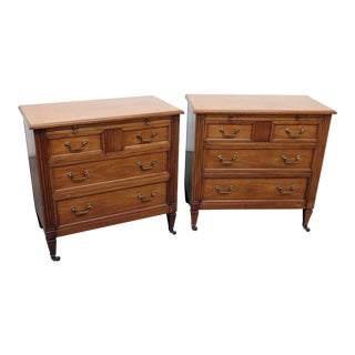 Kindel Mid-Century Commodes - a Pair For Sale
