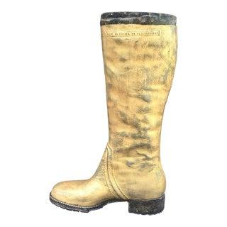 20th Century Figurative Cobbler's Boot Umbrella Stand For Sale
