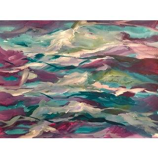 """Wave Dream"" Original Painting on Watercolor Paper"
