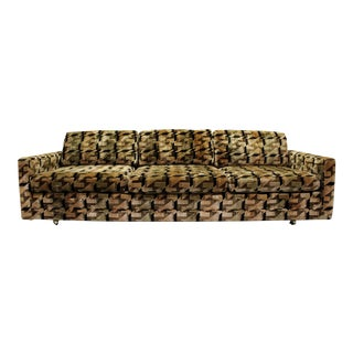 Mid-Century Danish Modern Milo Baughman Selig Sofa