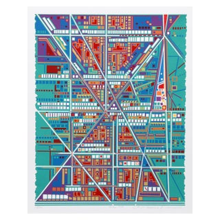 Risaburo Kimura - City 368 Serigraph