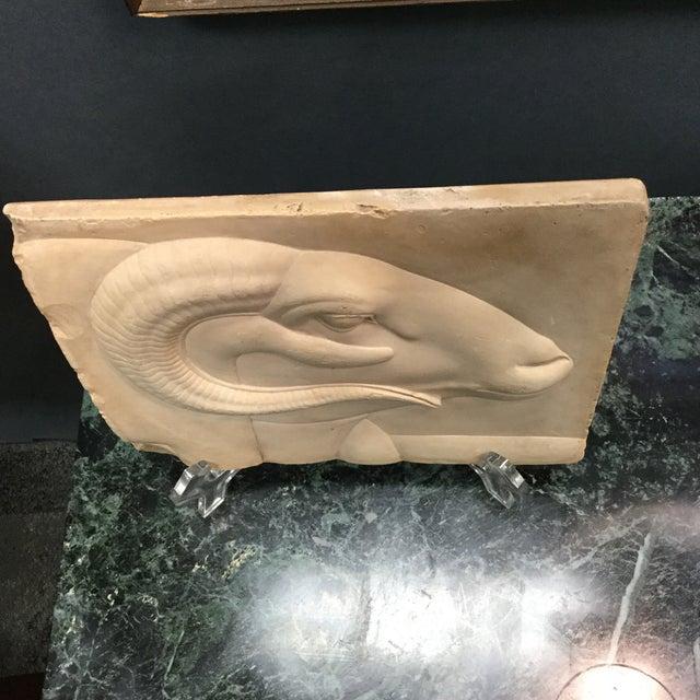 Rams Head Art Plaque For Sale In Atlanta - Image 6 of 7