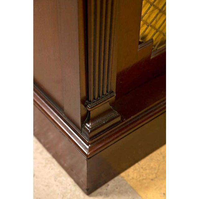 Regency Style Rosewood Serving Cabinet - Image 8 of 8