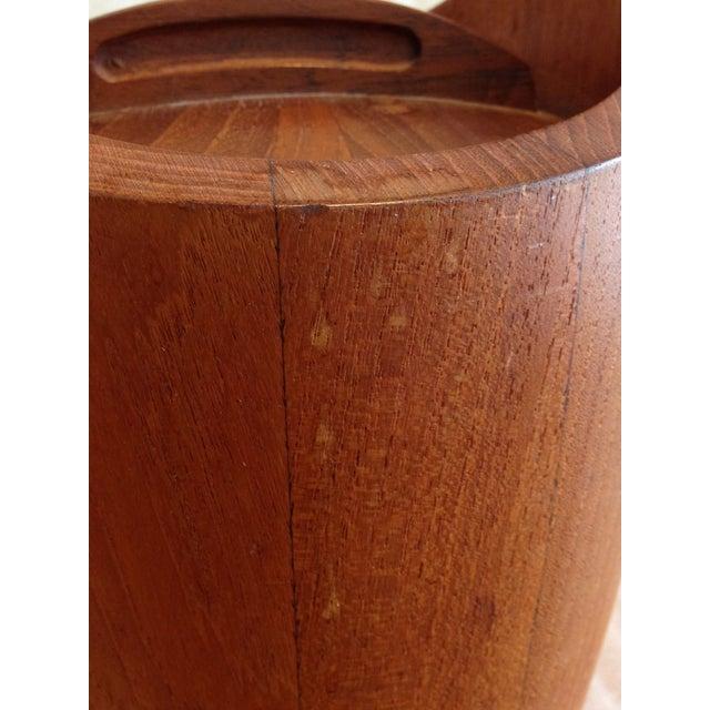 Jens Quistgaard for Dansk Teak Ice Bucket - Image 6 of 10