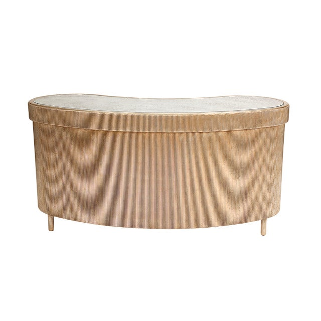 Designer Nancy Corzine Curtain Vanity Credenza Console For Sale In Los Angeles - Image 6 of 13