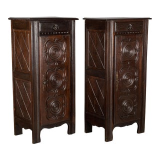 20th Century French Country Cabinets - a Pair For Sale