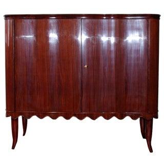 1950s Italian Paolo Buffa Bar Cabinet For Sale