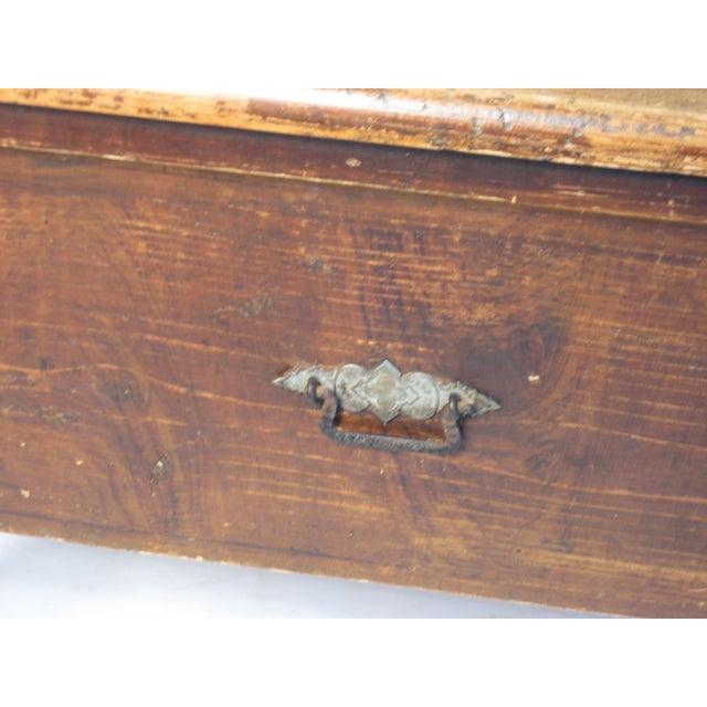 Antique Swedish Bench - Image 6 of 10