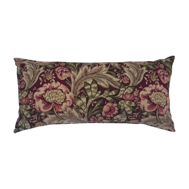 Woven Floral Pillow - Image 1 of 5