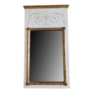 Trumeau Mirror by Palladio Italy For Sale