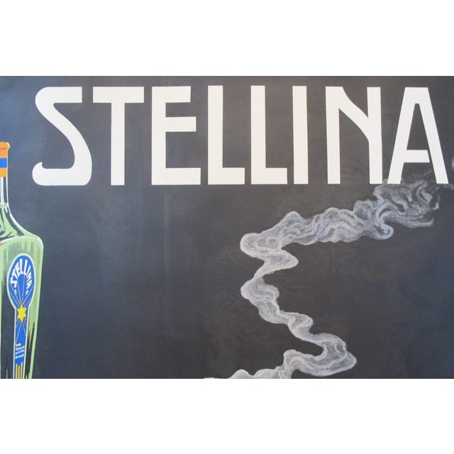 1930s Original French Advertisement Poster - Alcohol Poster - Stellina For Sale - Image 9 of 10