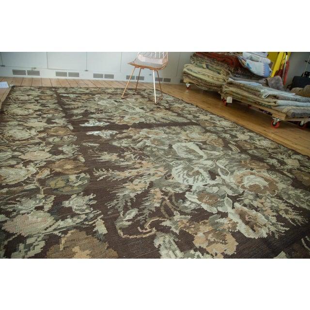"Vintage Kilim Carpet - 7'8"" X 12'4"" - Image 2 of 8"