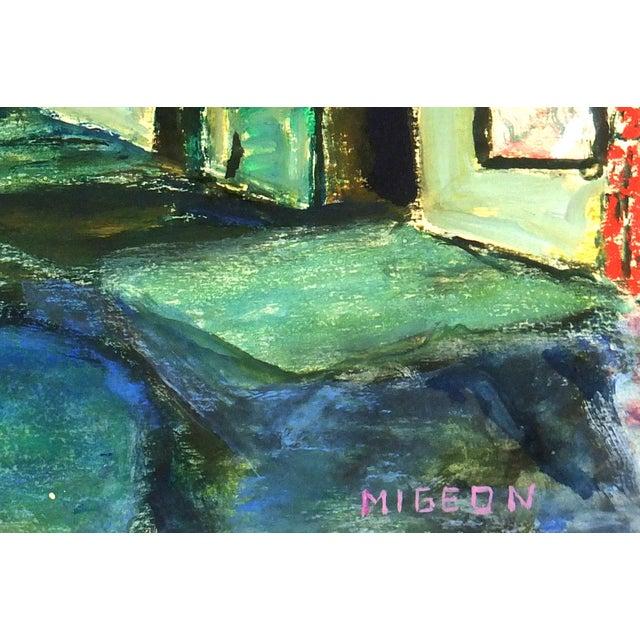Modern Art Painting - Big City Nightlife - Image 2 of 4