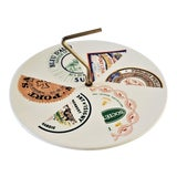 Image of French Cheese Server Plate For Sale