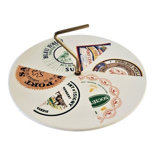 French Cheese Server Plate For Sale
