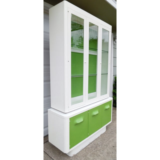 1970s Mod Pop China Cabinet - Image 11 of 11
