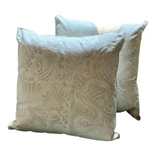 Custom Scalamandre Christian Lacroix Throw Pillows - a Pair