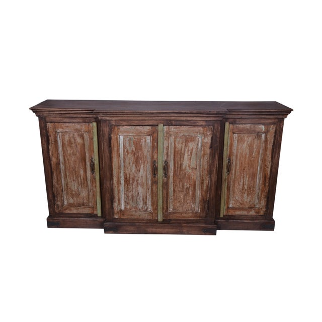 Early 21st Century Early 21st Century Vintage Hugh Sideboard For Sale - Image 5 of 6