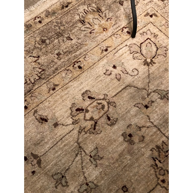 2010s Muted Lovely Oushak Area Rug For Sale - Image 5 of 8
