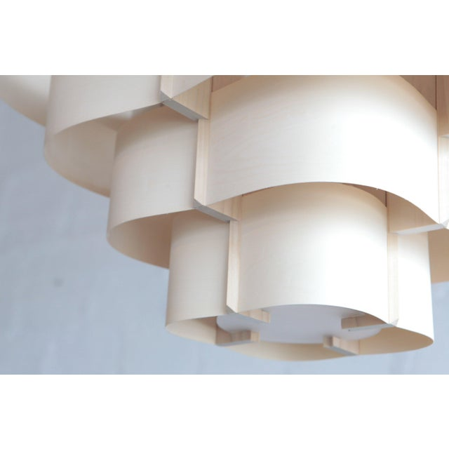 Harry Weitzer Canopy Wood Lighting For Sale - Image 4 of 5