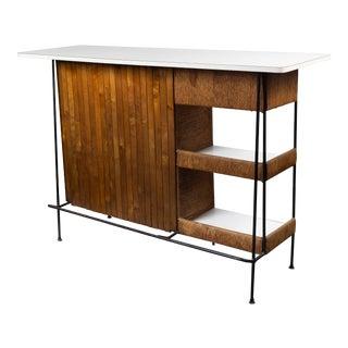 1950s Mid Century Modern Arthur Umanoff Bar For Sale