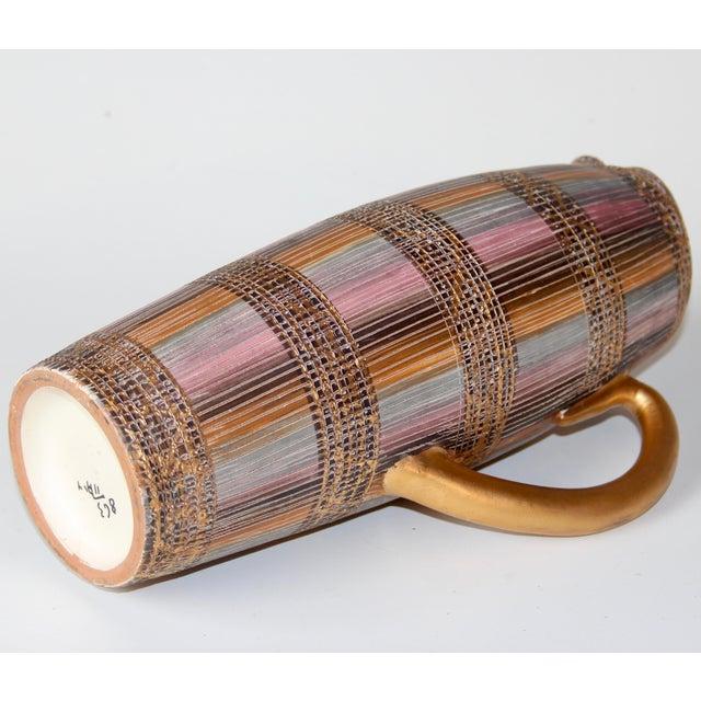 Mid Century Bitossi Raymor Seta Italian Pottery Londi Pitcher For Sale In New York - Image 6 of 13