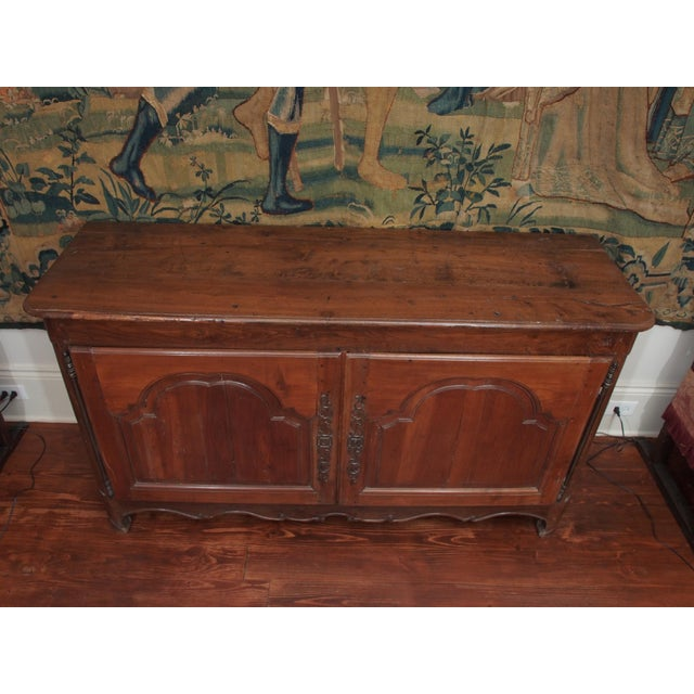 Louis XIV Fruitwood Buffet For Sale In New Orleans - Image 6 of 11