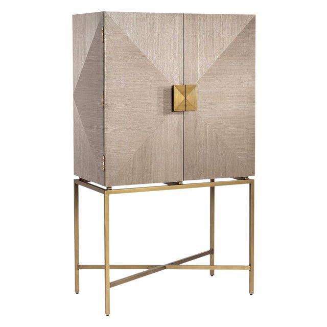 Interlude Home Gaspard Bar Cabinet For Sale