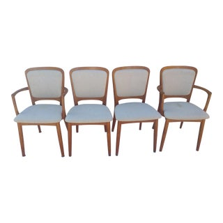 Koefoeds Hornslet Danish Dining Chairs, Set of 4