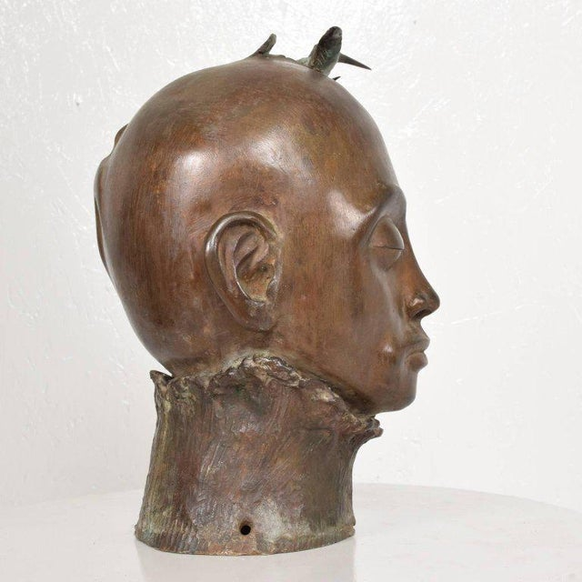Surrealist Bronze Sculpture, Mexico, 1960s For Sale - Image 11 of 13