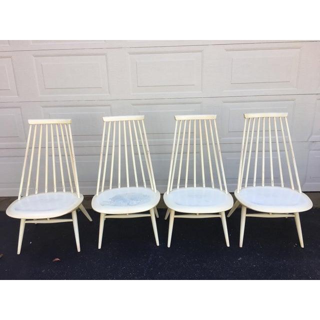 Edsby-verken 'Mademoiselle' Lounge Chair by Ilmari Tapiovaara for Edsby Verken - Set of 4 For Sale - Image 4 of 10